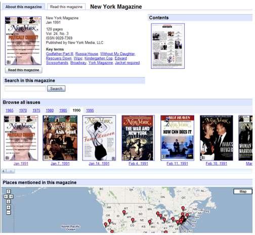 Digitalizing Magazines