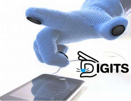 Touch Screen Finger Pins