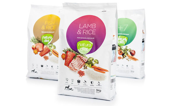 Delicious Dog Meal Packaging