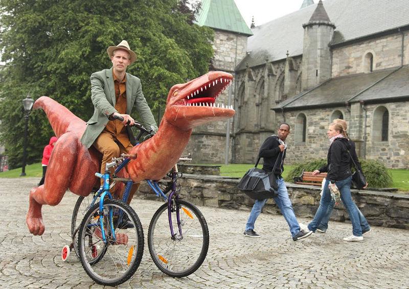 Prehistoric Dinosaur Bikes