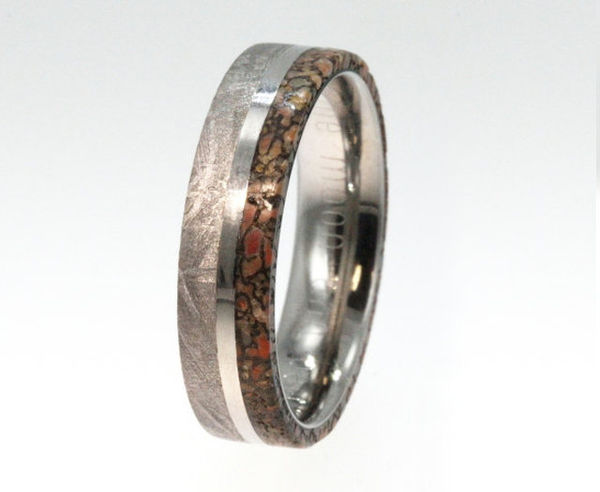 Prehistoric Wedding Bands