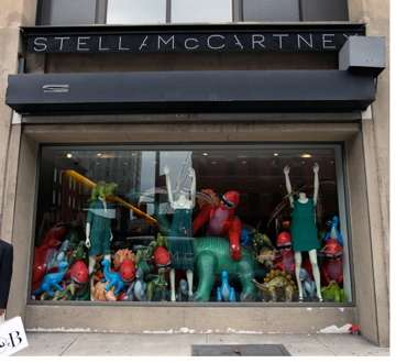 Dinosaur Storefront Displays