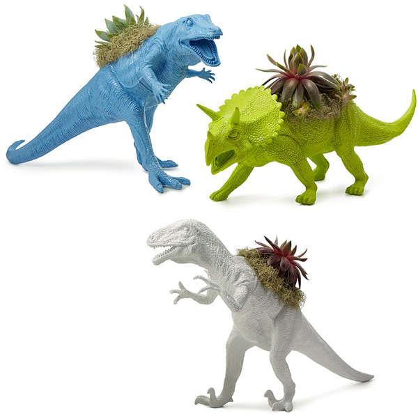 Mini Dino Planters