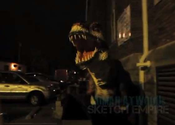 Terrifying T-Rex Attack Pranks