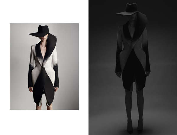 Sculptural Silhouette Fashion