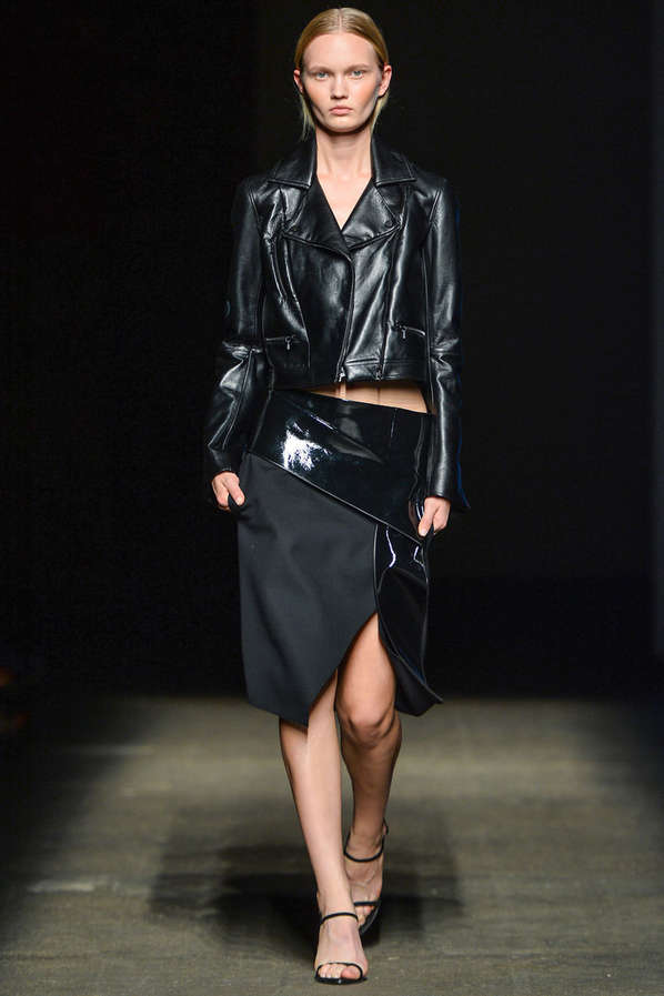 Refined Rocker Chic Runways