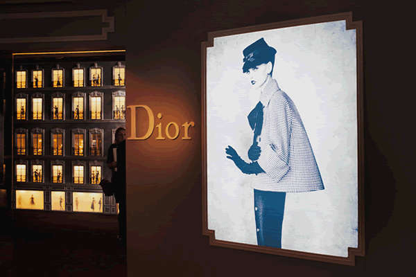 Dior at Harrod's London