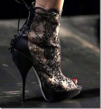 Lace Corset Stilettos