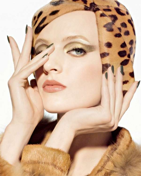 Animalistic Cosmetic Ads