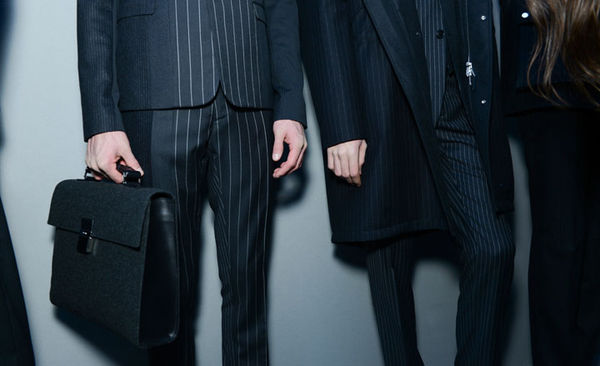 Layered Pattern Menswear Fashions