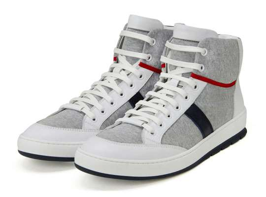 Dior Homme Sweat High Sneakers