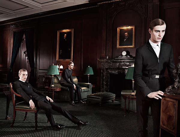 dior homme 'the players' fall/winter 2013 campaign