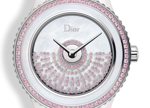 Posh Pink Studded Timepieces