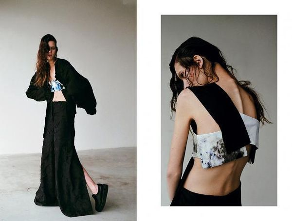 Loosely Sculptural Fashion