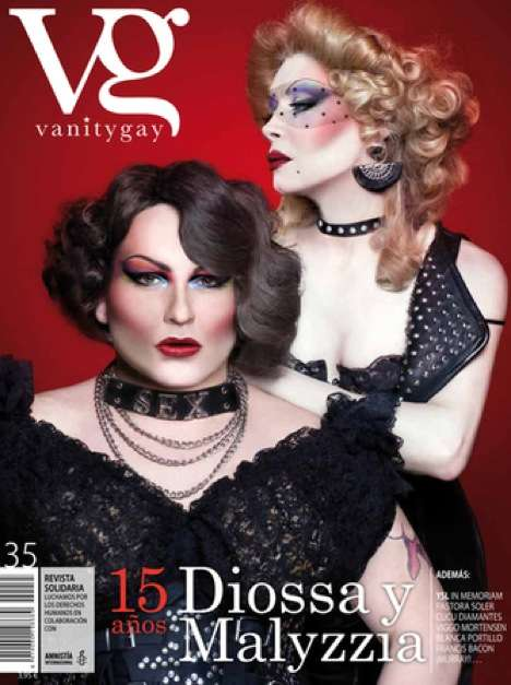 Cross-Dressing Cover Models