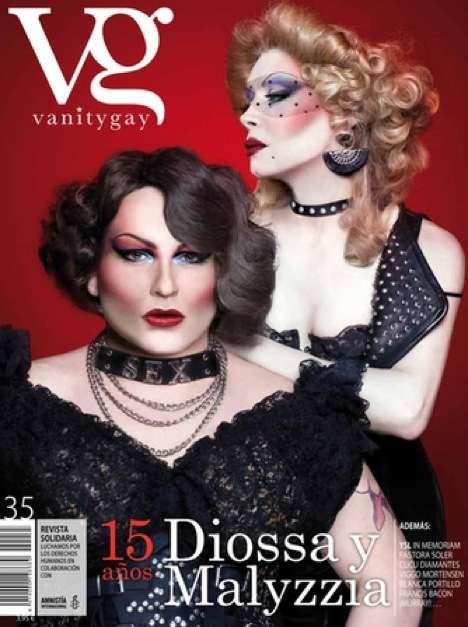 Cross-Dressing Cover Models