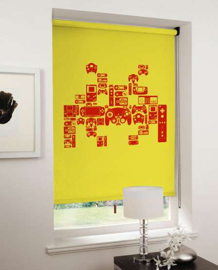 Geeky Gamer Window Shades