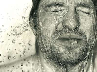 Hyperrealist Pencil Portraits