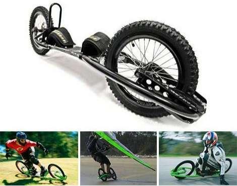 A Bike Skateboard