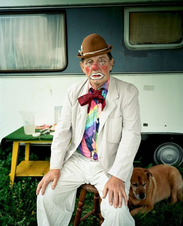 Retired Clown Portraits
