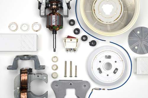 Disassembled Household Appliances
