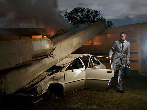 Disaster-Inspired Fashion Photography