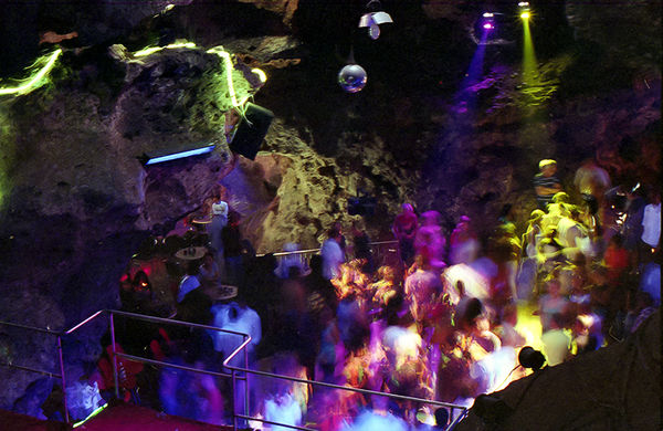 Colorful Cave Clubs