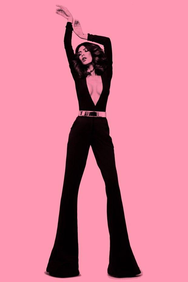 Retro diva editorials disco fashion editorial - Diva big man ...