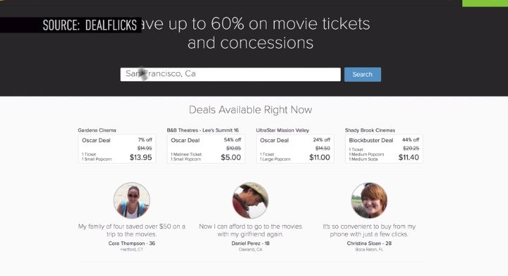 Discount Cinema Apps