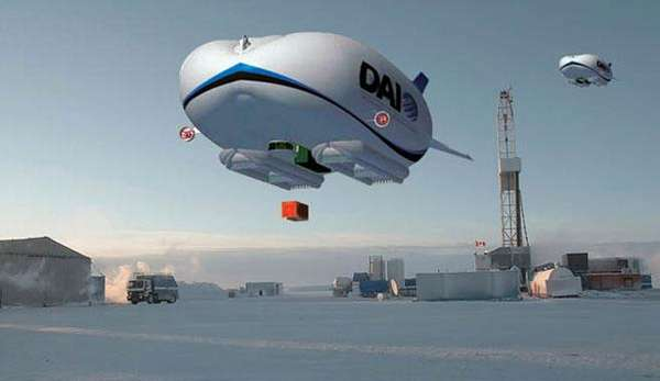 Deep-Freeze Dirigibles