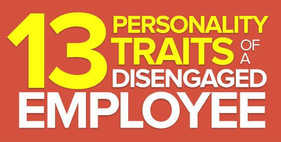 Disengaged Employees Infographics