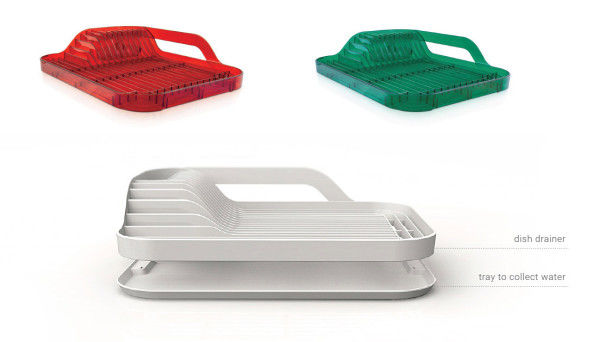Colorful Dish Racks