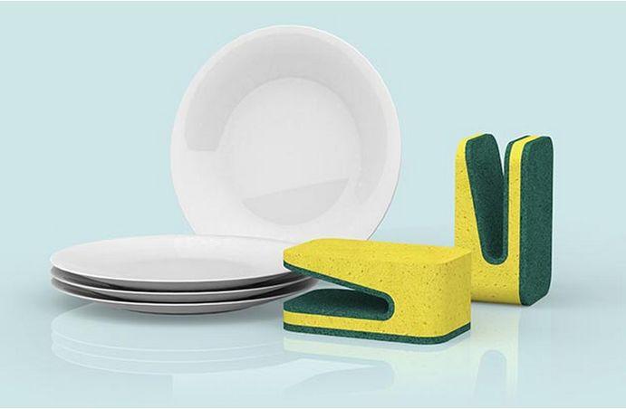 Dextrous Dish Sponges