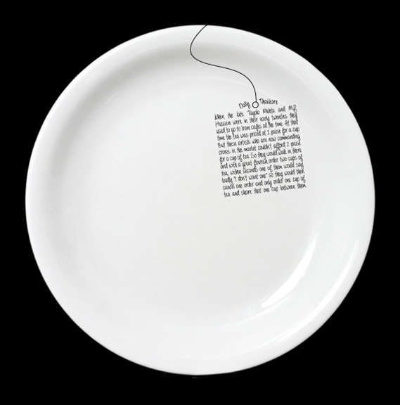 Handwritten Dish Designs