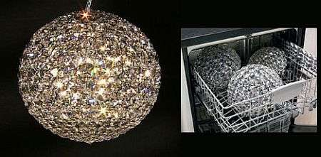 Dishwasher Safe Crystal Chandelier