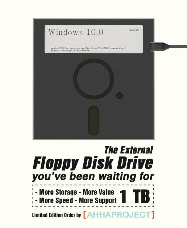 Floppy Disk Hard Drives