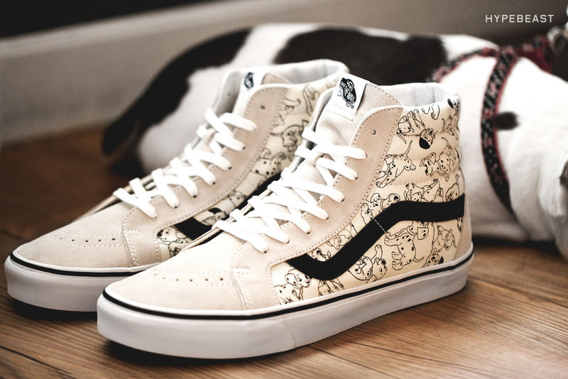 Dalmatian-Spotted Sneakers