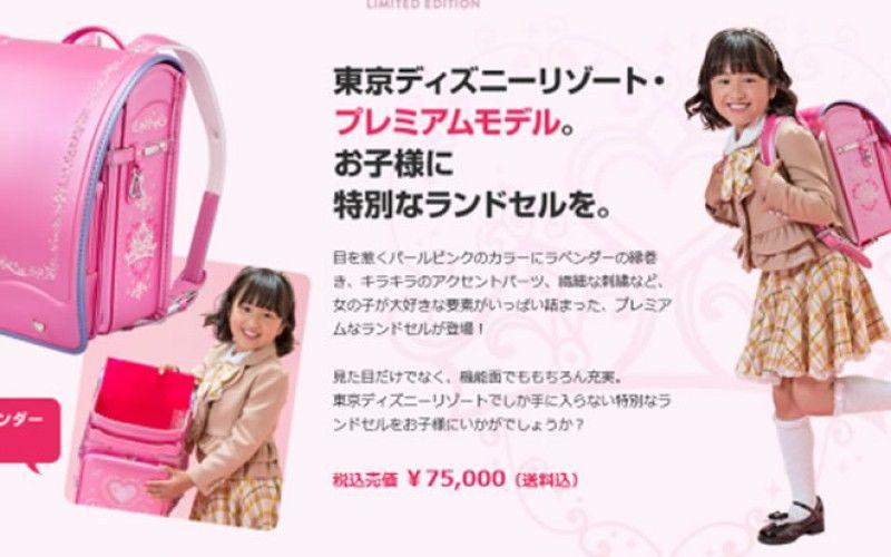 Japanese Disney Backpacks