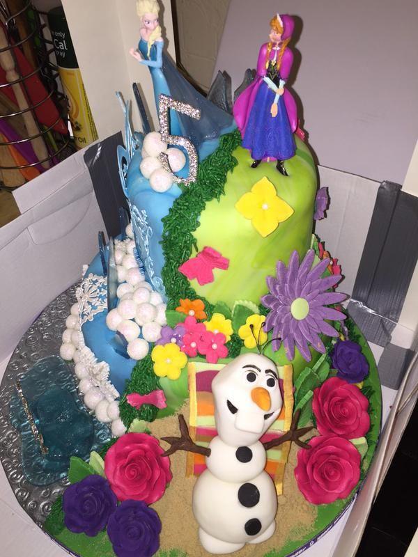Dual Personality Princess Cakes
