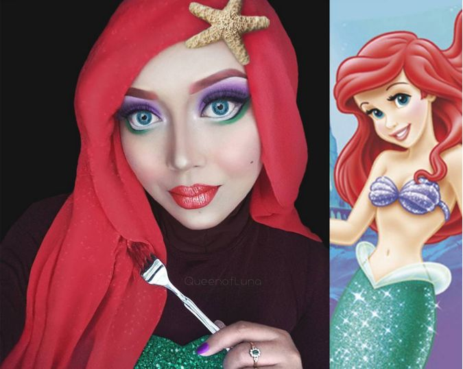Religious Disney Makeup Portraits