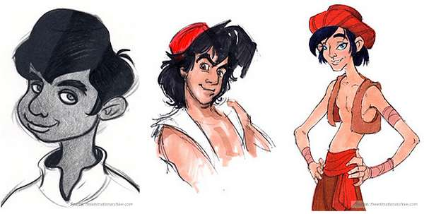Historic Disney Concept Illustrations