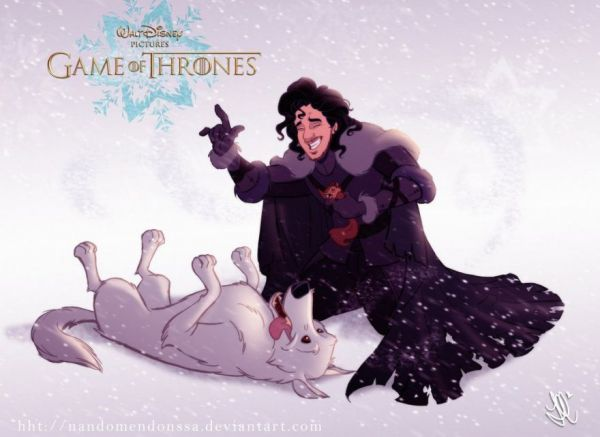 Cartooned Fantasy Show Characters
