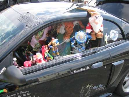 Disney-Packed Cars