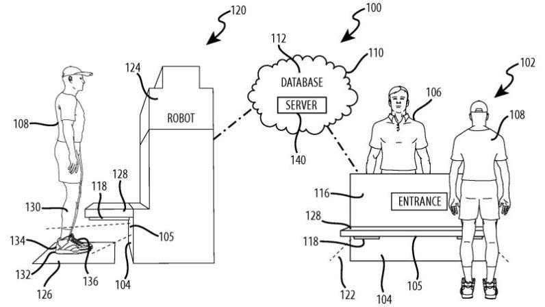 Shoe-Based Tracking Robots