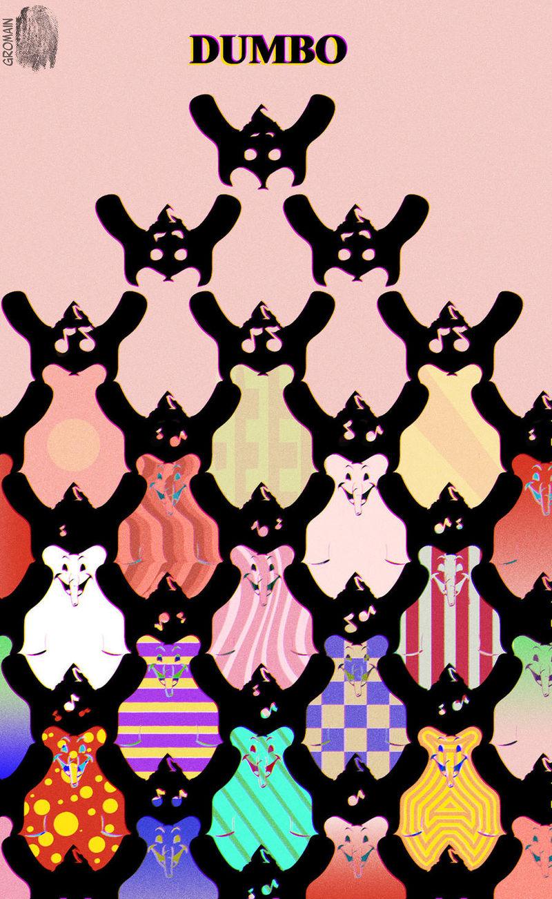 Somber Disney-Themed Posters