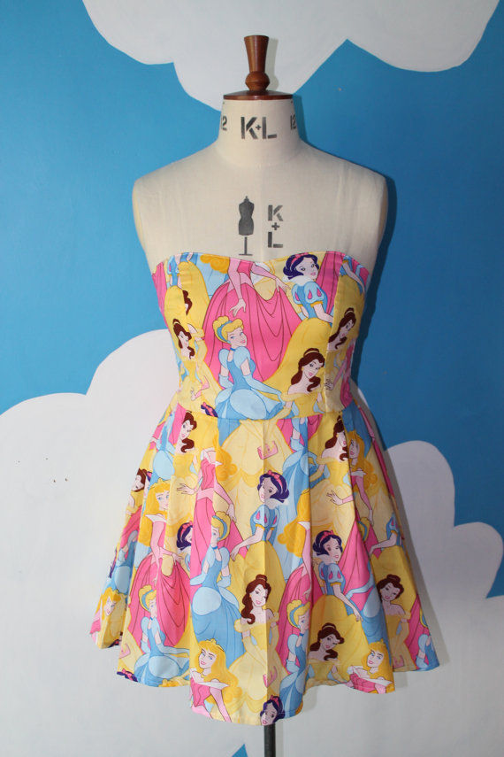 Princess Collage Dresses
