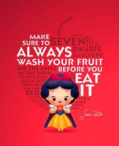 Adorable Disney Princess Lessons