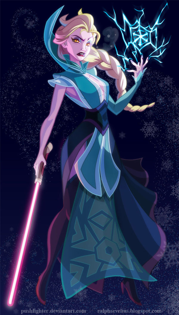 Lightsaber-Weilding Princesses (UPDATE)