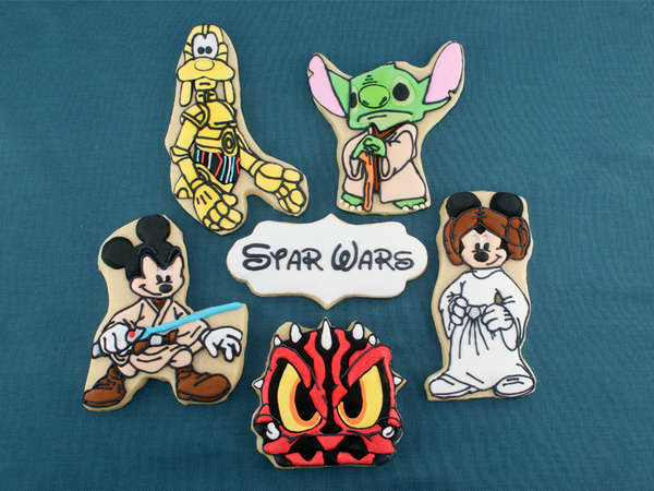 Disney Star Wars Cookies