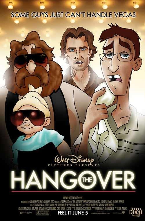 Disneyfied Movie Posters